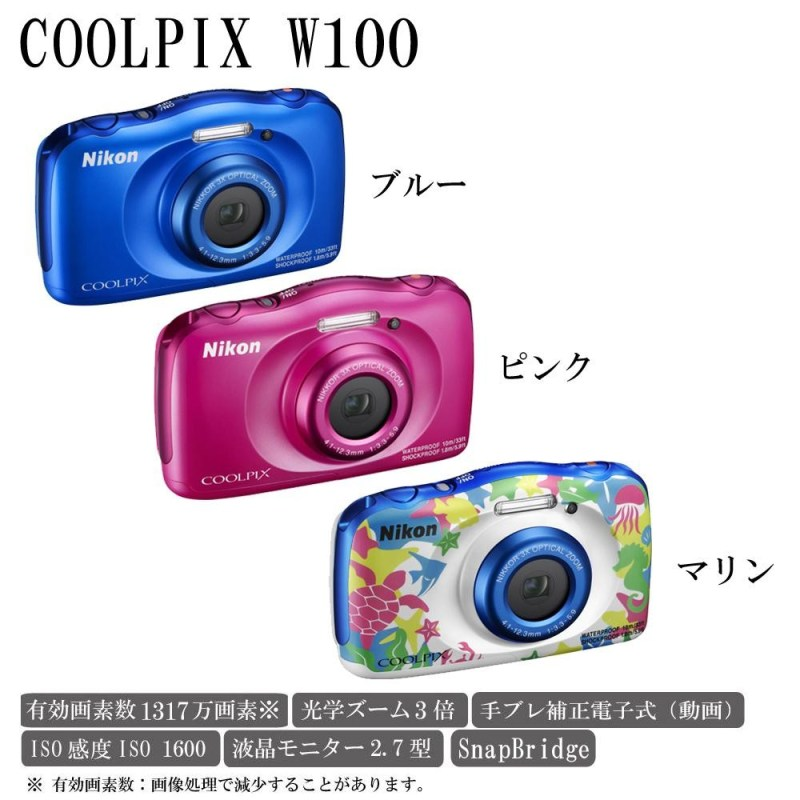 Large Of Nikon Coolpix W100