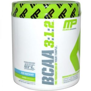 Muscle Pharm BCAA Blue Raspberry
