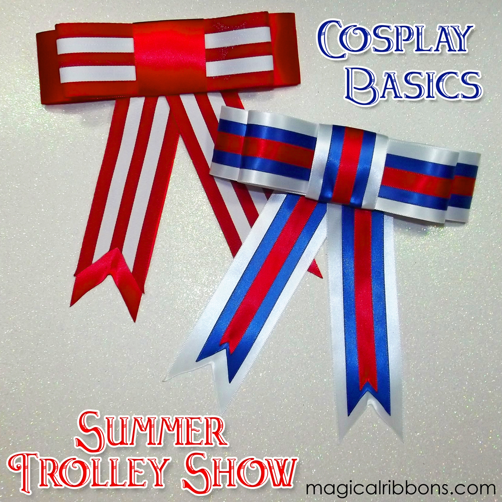 Summer Trolley Show Bows