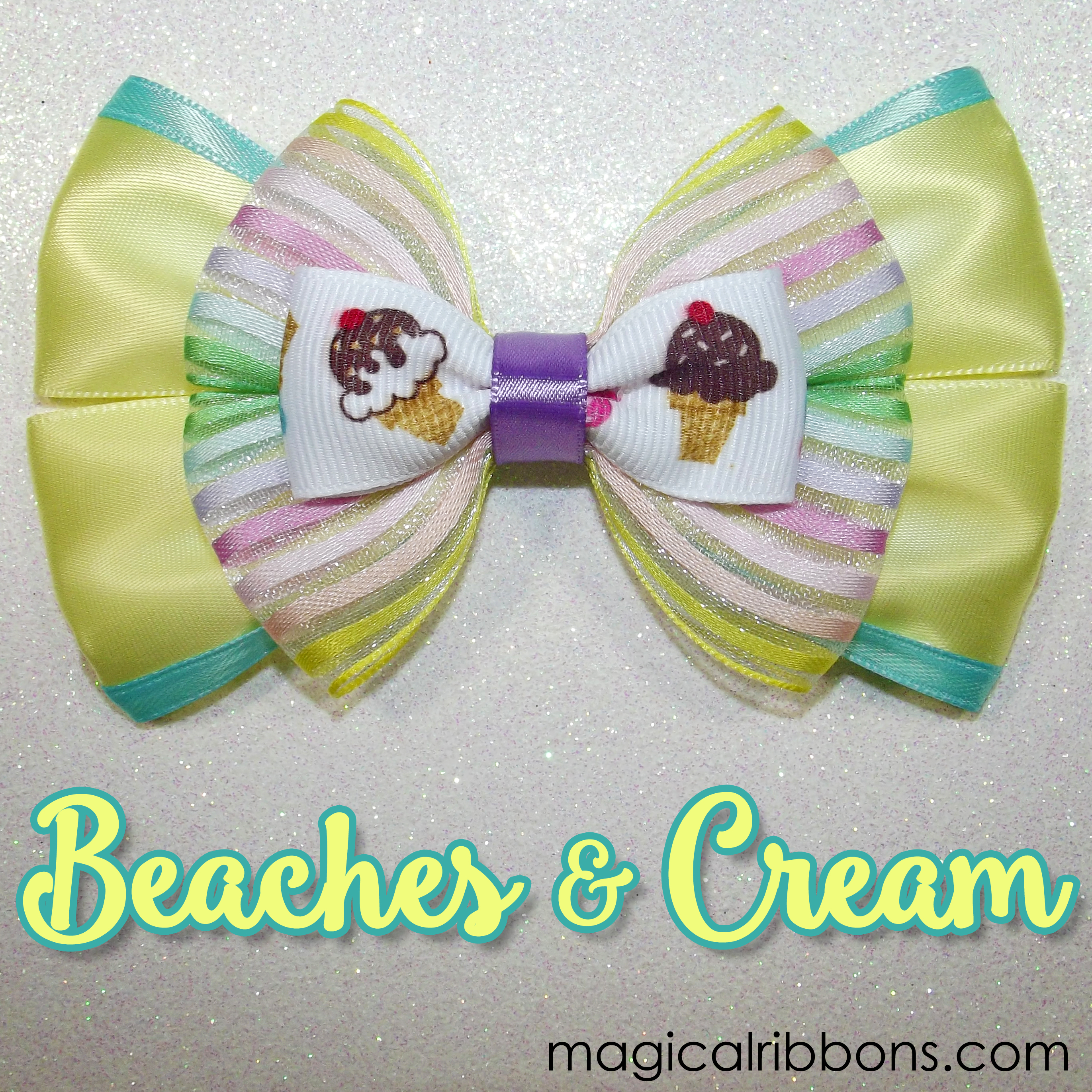 Beaches and Cream Bow