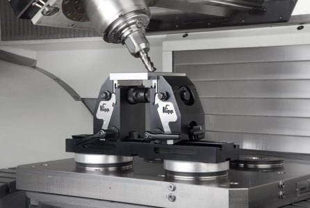 The Kipp clamping system from distributor Mittmann.