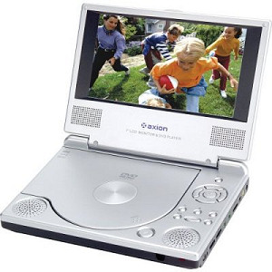 Axion 7-inch Portable DVD Player for $25 on Amazon