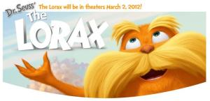"HP Sponsors Universal Pictures & Illumination Entertainment's 3-D Feature ""Dr. Seuss' The Lorax"" (Giveaway!)"