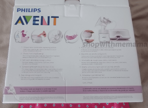 AVENT breast pump