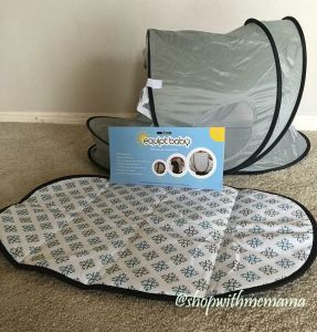 Must Have Bag with Pop-Up Bassinet For Baby!