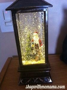 LED Lantern Christmas Snow Globe From Apollo Box (2 Giveaways!)