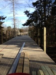Hammonasset boardwalk deck