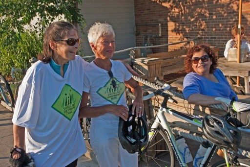 First Saturday Bike Ride with Sue Stacey