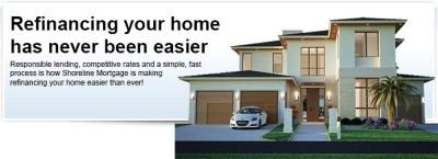 Refinance a Home - Shoreline Mortgage