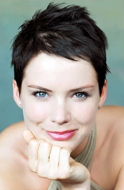 New Modern Short Hairstyles For Women 2013