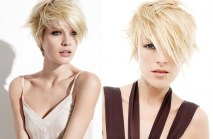 Cute Blonde Short Layered Haircuts