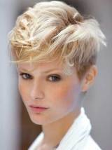 Cute Short Blonde Haircuts Trends 2013