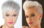 New Trendy Blonde Short Haircuts 2015