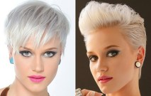 New Trendy Blonde Short Haircuts 2015