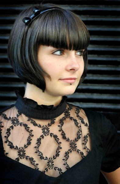 Trendy Short Haircuts With Bangs Short Hairstyles 2016