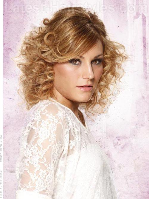 Best Medium Curly Hairstyles 2015 Short Hairstyles 2016