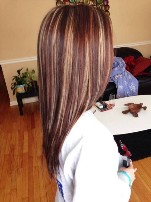 Cute Brown Hair With Highlights Short Hairstyles 2016