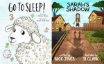 #shortbookscribe #bookreview – Go To Sleep by Marion Adams and Sarah's Shadow by Nick Jones @Marion_author @nickjonesauthor @rararesources #BlogTour #ChildrensBooks