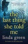 ShortBookandScribes #Extract from #TheLastThingSheToldMe by Linda Green @LindaGreenisms @QuercusBooks @MillsReid11