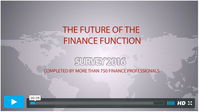 FSN finance survey 2016 the future of the finance function