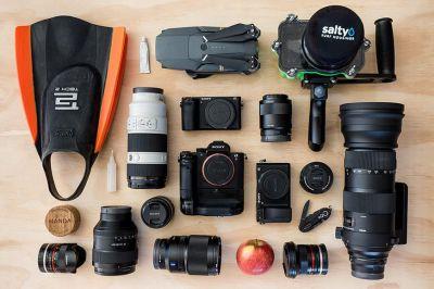 Surfing Photographer Camera Gear - Rambo Estrada