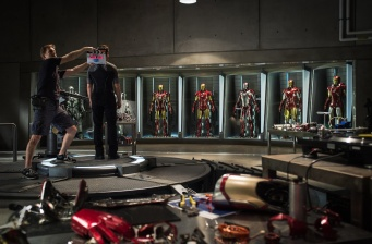 """First official picture from """"Iron Man 3""""!"""