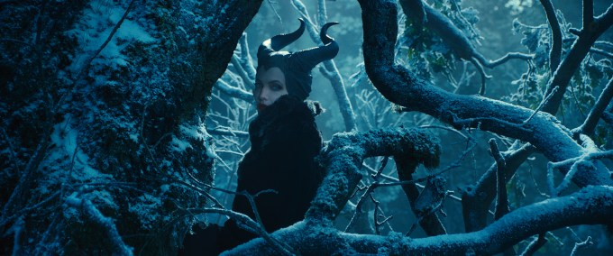 Angelina Jolie stars in 'Maleficent'