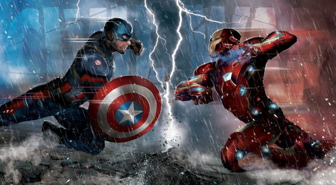 6 New Posters From Marvel's 'Captain America: Civil War'