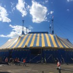 CIRQUE DU SOLEIL'S TRADEMARK BLUE-AND-YELLOW BIG TOP HAS ARRIVED IN CHICAGO!  KURIOS – Cabinet of Curiosities™ Premieres Aug. 6th