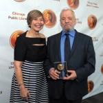STEPHEN SONDHEIM RECEIVES 2015 CARL SANDBURG LITERARY AWARD IN CHICAGO