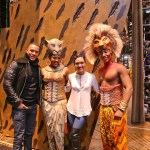 Showbiz Chicago Photo Booth!  Stars of Fox's Hit EMPIRE visit THE LION KING