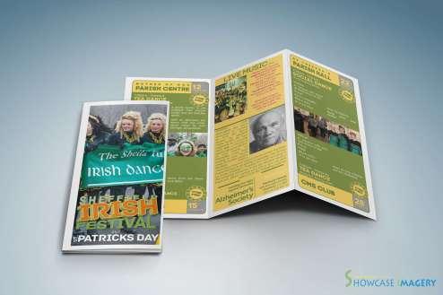 folded leaflet printing inner view sia st patricks day leaflet