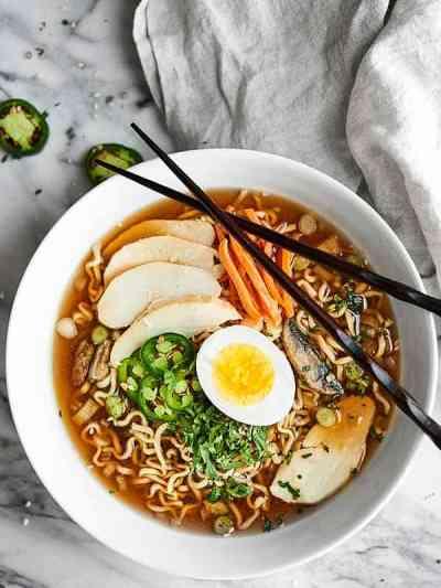 Slow Cooker Ramen Noodles Recipe - w/ Chicken