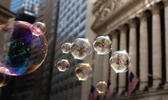 bubble-wall-street