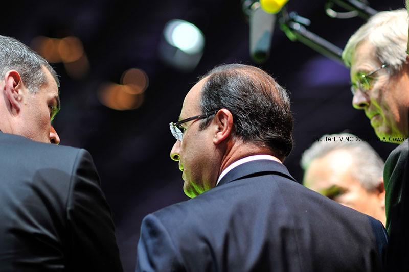 Le Président de la République, M. François HOLLANDE