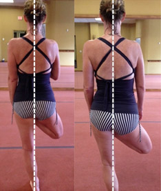 Saggital Plane Body Hip Alignment Bikram Yoga