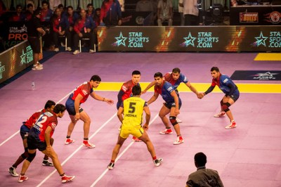 In Pictures: India's Pro Kabaddi League Teams Grapple for Victory - India Real Time - WSJ