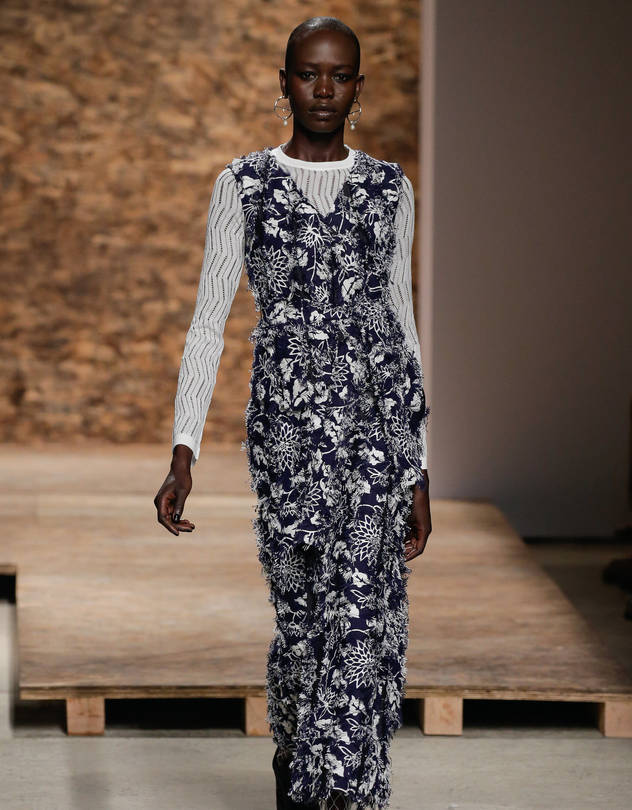 Creatures Of The Wind fashion show for Spring 2016 at New York Fashion Week