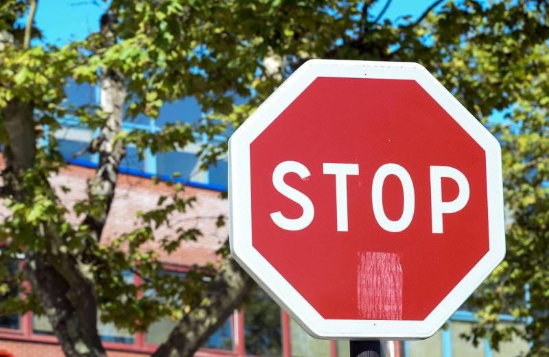 Large Of Stop In German