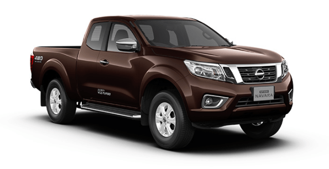 nissan np300 navara king cab earth brown