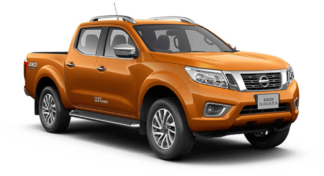 nissan np300 navara double cab savanna orange