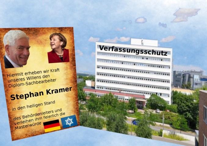 Stephan Kramer Verfassungsschutz