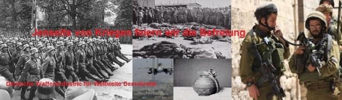 Jenseits von Kriegen feiern wir die Befreiung!
