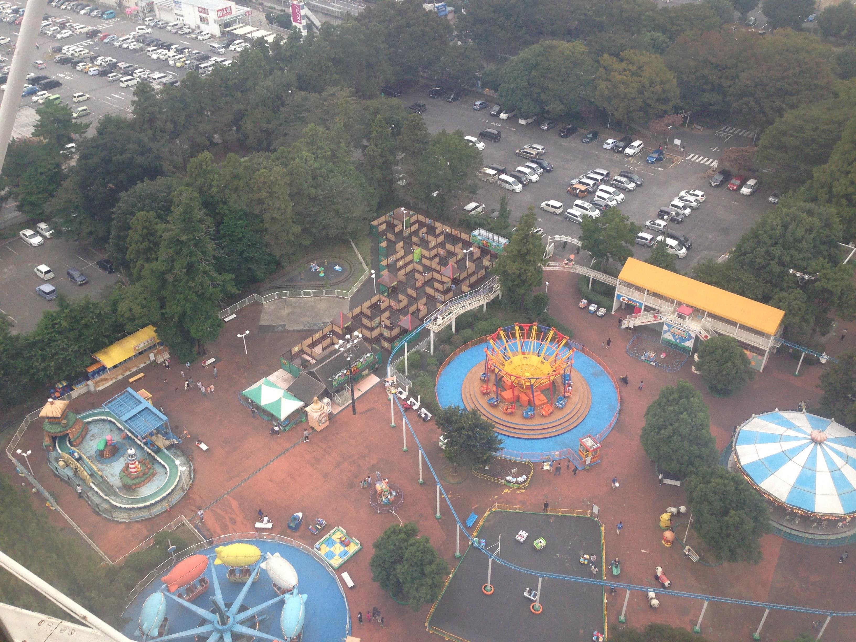 ディズニーやUSJに行かなくても楽しめる!地方の小さな遊園地に行こう