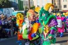 Главное шествие карнавала на Тенерифе в 2016 году — яркая кокетка