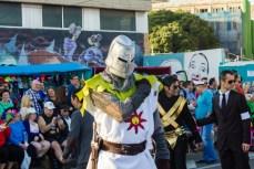 Главное шествие карнавала на Тенерифе в 2016 году — рыцарь