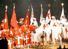 Рыцарский турнир в замке Сан Мигель