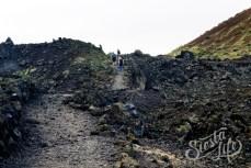 Застывшая лава вулкана Чиньеро