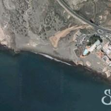 Пляж Леокадио Мачадо на карте