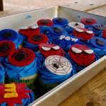 Spiderman cupcakes our friend Samara made